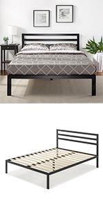 Zinus ASMPH-15 Metal Bed Frame