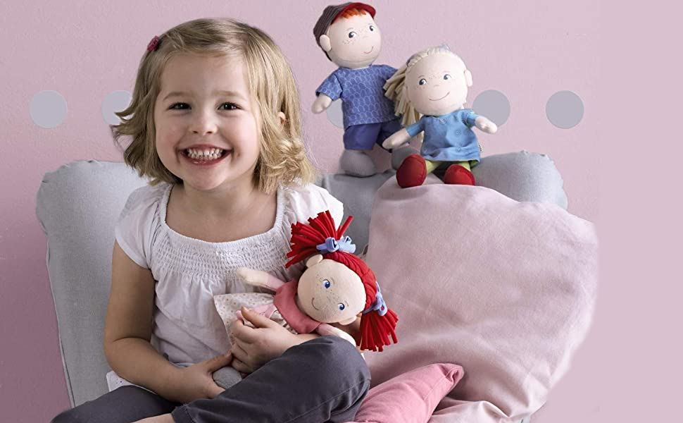 """Knitting Pattern for 4 Gorgeous Toys Dolls Double Knitting ALICE BABY 16/"""" 13.75/"""""""
