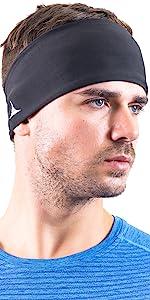mens headband for running workout sports cooling headband