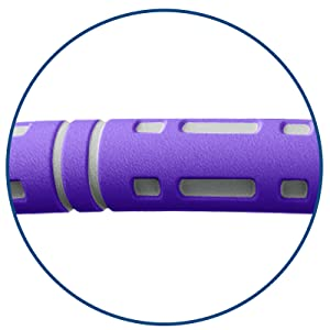 Verbesserte Version Fitness Erwachsene-Reifen, Stabiler Edelstahlkern Hoop zur Gewichtsreduktion