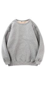 Sherpa Lined Crewneck Sweatshirt