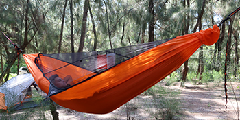 Easthills Outdoors Skyloft 120 x 56 Ultraligera individual Camping Hamaca todo en uno Accesorios Gear