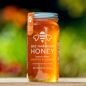 Orange Blossom honey jar