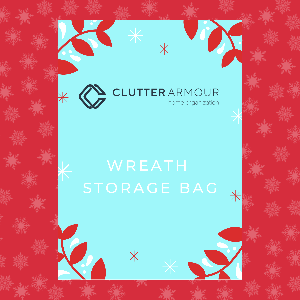 Wreath Storage Bag Beautiful Gift-able Packaging