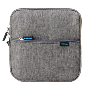 ROOFULL External CD DVD Drive with Gray Protective Carrying Case Bag