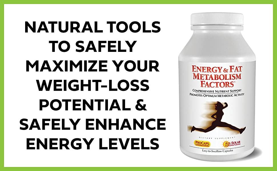Energy and Fat Metabolism