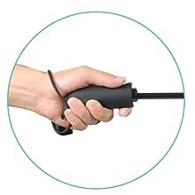 Ergonomic Handle for Comfort Grip