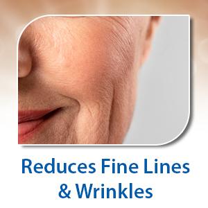 reduces fine lines