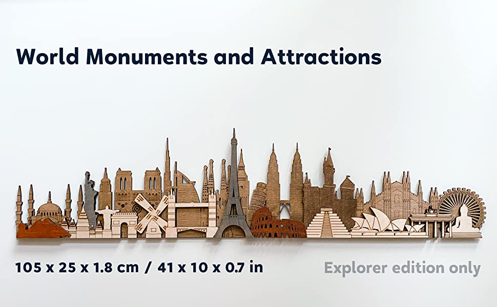 Explorer - World Monuments and Attractions