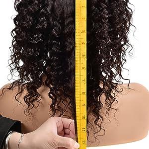 cutly human hair wig