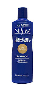 small shampoo hair dry