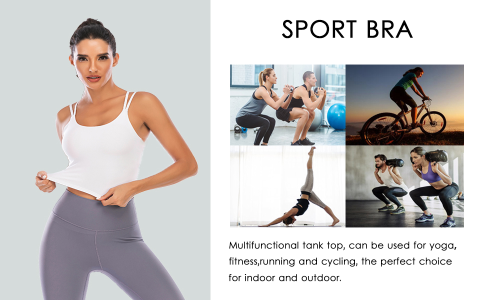 Multifunctional sports bra