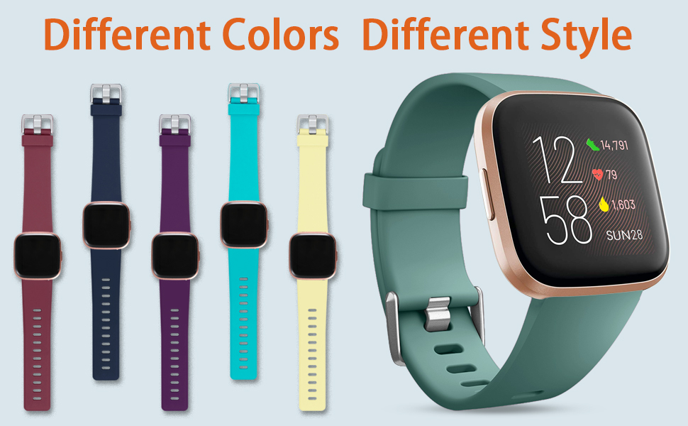 Different colors dress up your life!