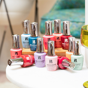 red carpet manicure, fortify and protect