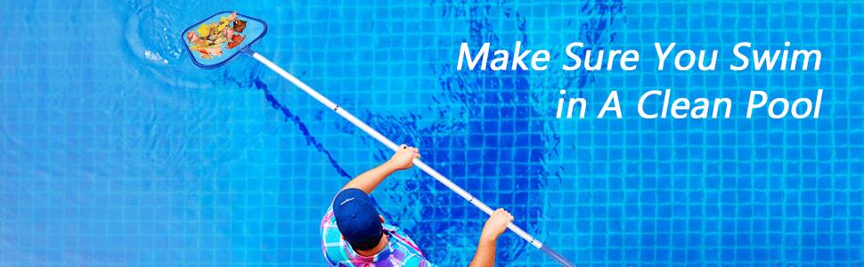 Heavy Duty Pool Skimmer Net