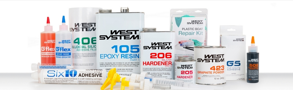WEST SYSTEM Epoxy products come in an array of versatile formulations