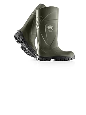 StepliteX SolidGrip O4, Agricultural Safety Work Boots, Green