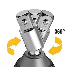 360° rotatable