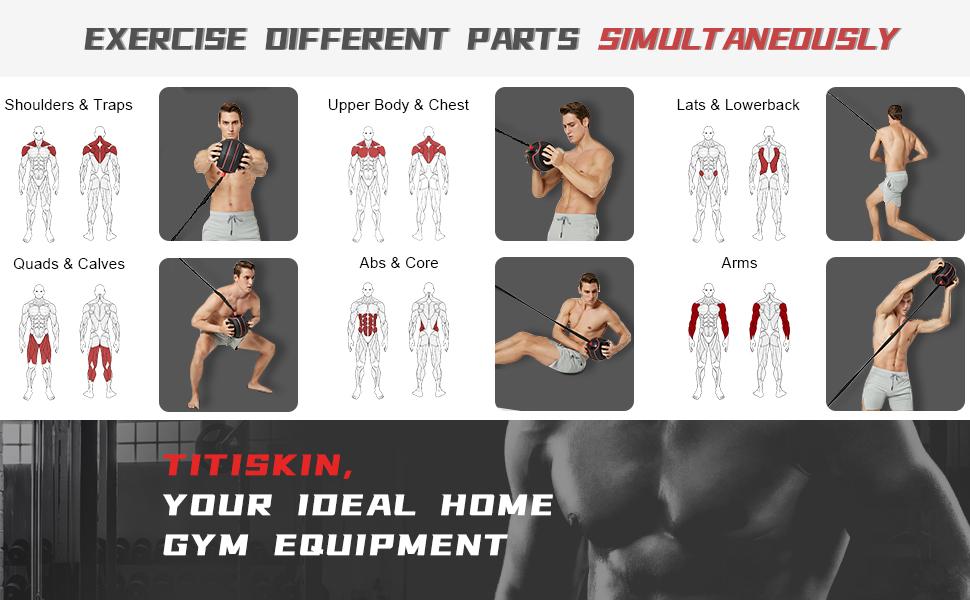 total body workout machine