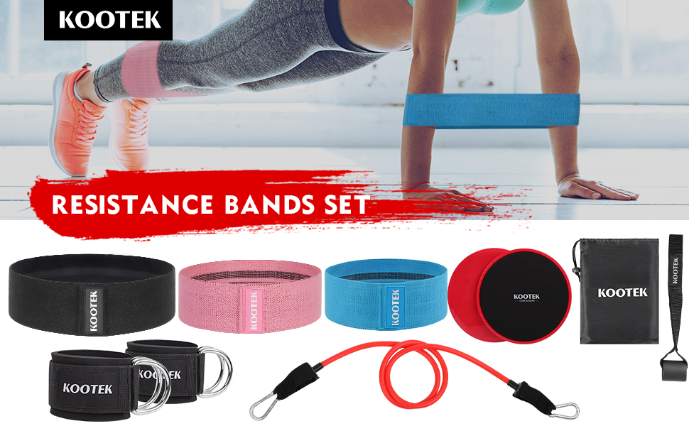 resistance bands workout bands