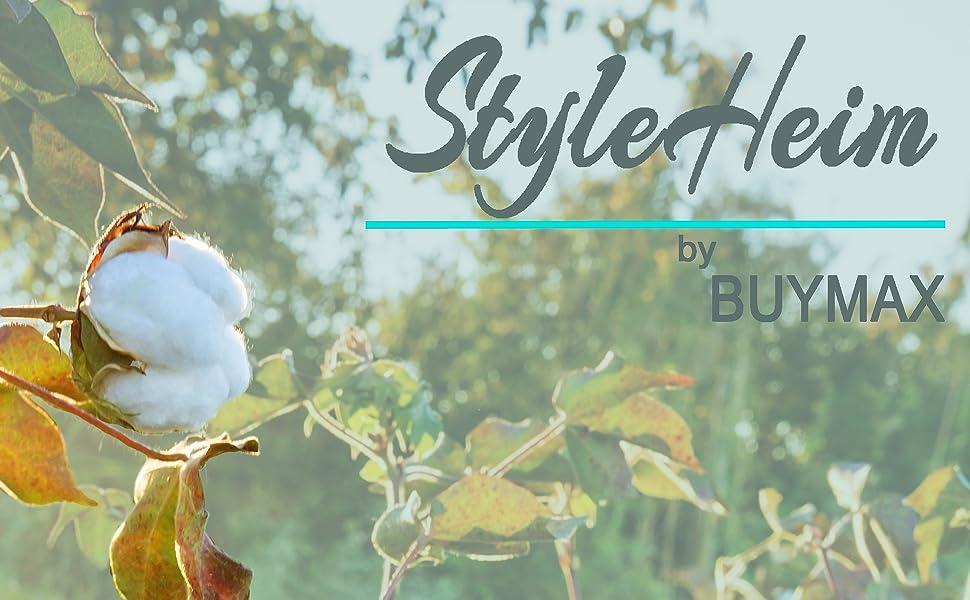 Heimtextilien Style Heim by Buymax Bettwäsche Spannbettlaken