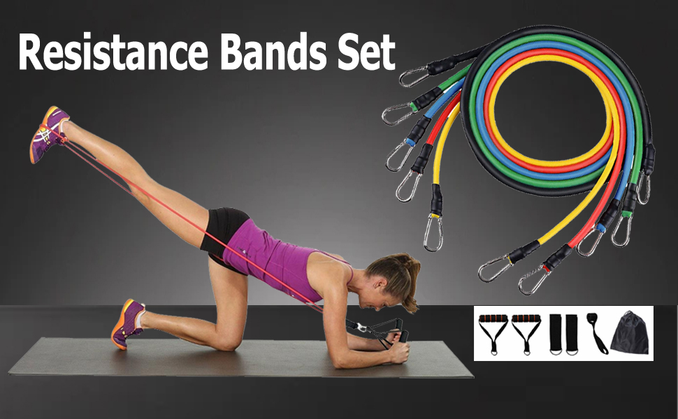 Long Resistance Band 3.9 Ft Exercise Yoga Red