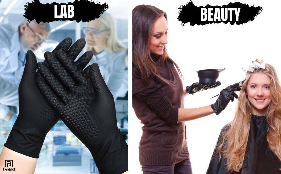 frabble8 gloves rubber lab salon dye henna mehendi hair color coloring