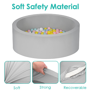 Soft safety material