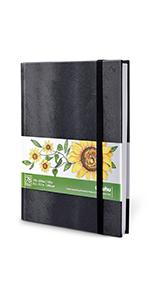 """Marker Pads Art Sketchbook, Ohuhu 8.3""""x11.7"""" Large 120LB/200GSM 78 Sheets/156 Pages"""