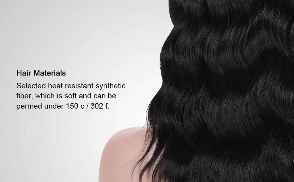 Materials: Selected heat resistant synthetic fiber
