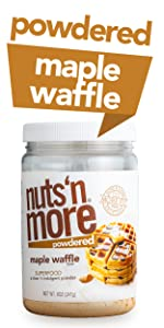 Nuts N More Powdered Maple Waffle