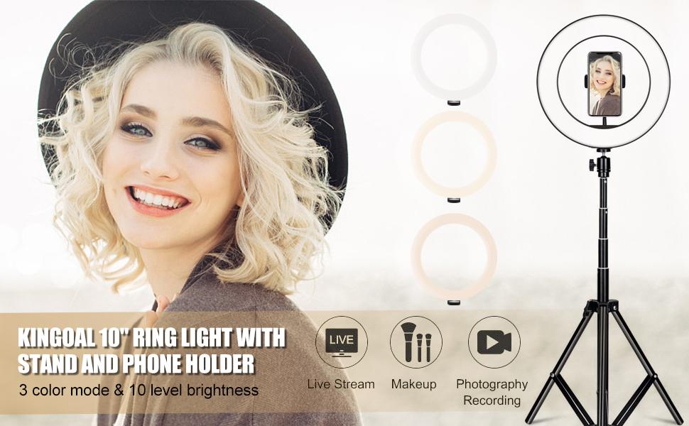 """10"""" ring light 1"""