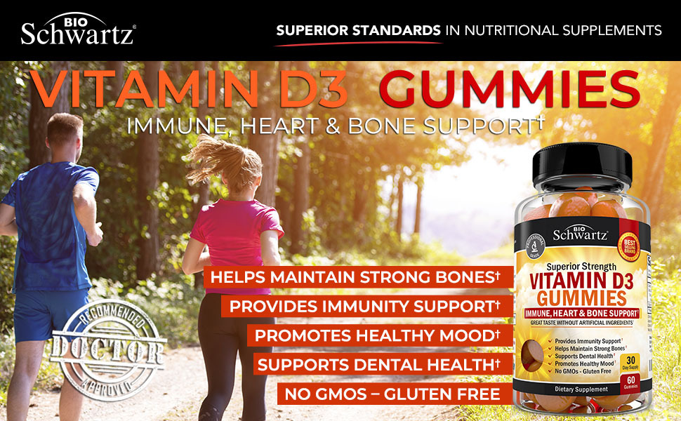 BioSchwartz Vitamin D Gummies