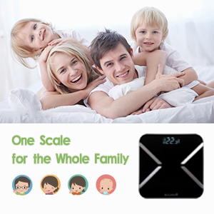 one scale for the whole family