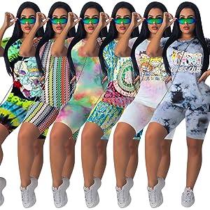 Fastkoala Casual T-Shirts Joggers Tracksuit Sportswear Sweat Suit Set