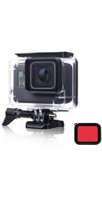 waterproof case for GoPro Hero 7/6/5 black