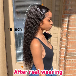 Brazilian Remy Hair Water Wave Lace Front Human Hair Wigs Water Wave Wet and Wavy Human Hair Wigs