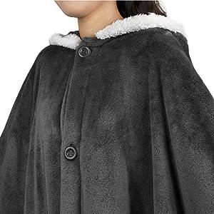 adjustable wearable blanket