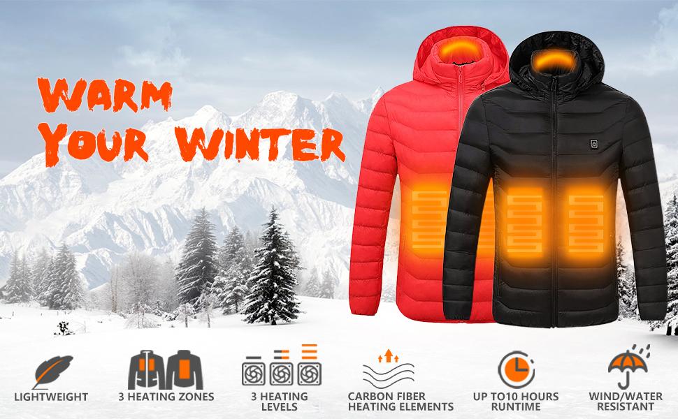 heated jacket heating