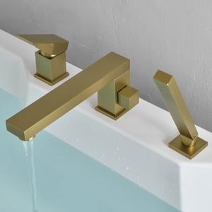 widespread bathtub faucet