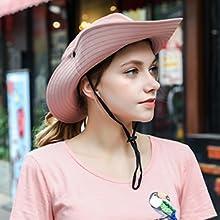 ponytail sun hats for women