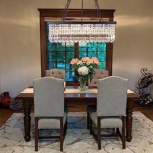 farmhouse chandelier for bedroom