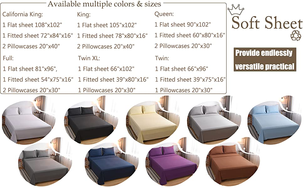 9 color options range from neutral to bold to suit any style.