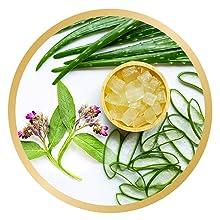 botanical nourishment against dryness