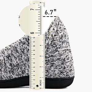 high collar slippers boots