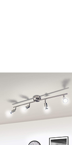 plafonnier spot spot plafond luminaire plafonnier led gu10 plafonnier 6 spots orientable
