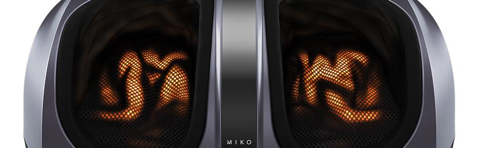 heat miko foot massager