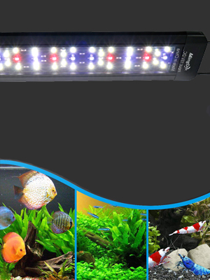 fish tank hood light