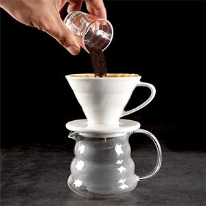 hand made coffee