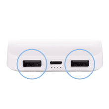 design power bank fast charging dual port